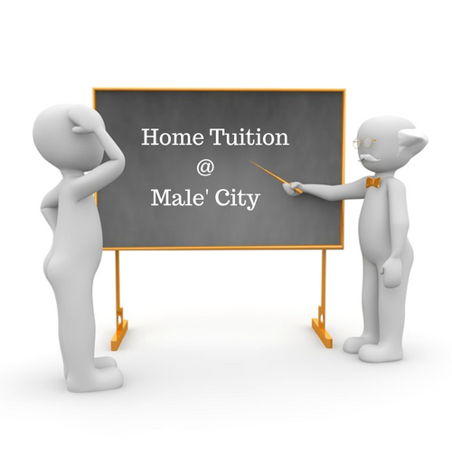 Need a tutor in Male'.