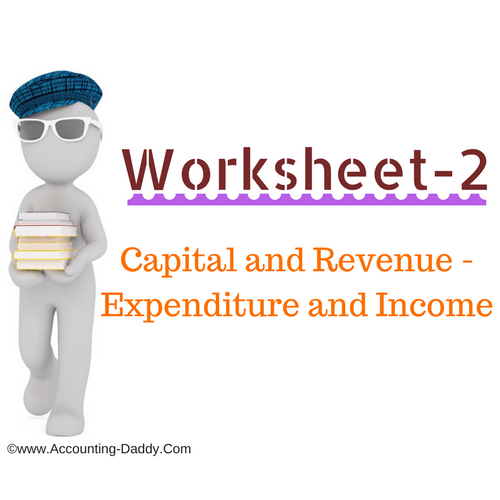 Capital and Revenue Receipts Worksheet-2.